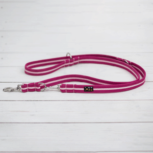 hot pink training lead for dogs