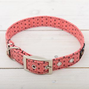 red daisy collar