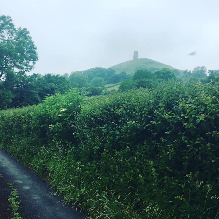 glastonbury tor dog walk