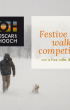 Christmas dog walk competition