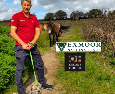 Oscar & Hooch team up with Exmoor National Park
